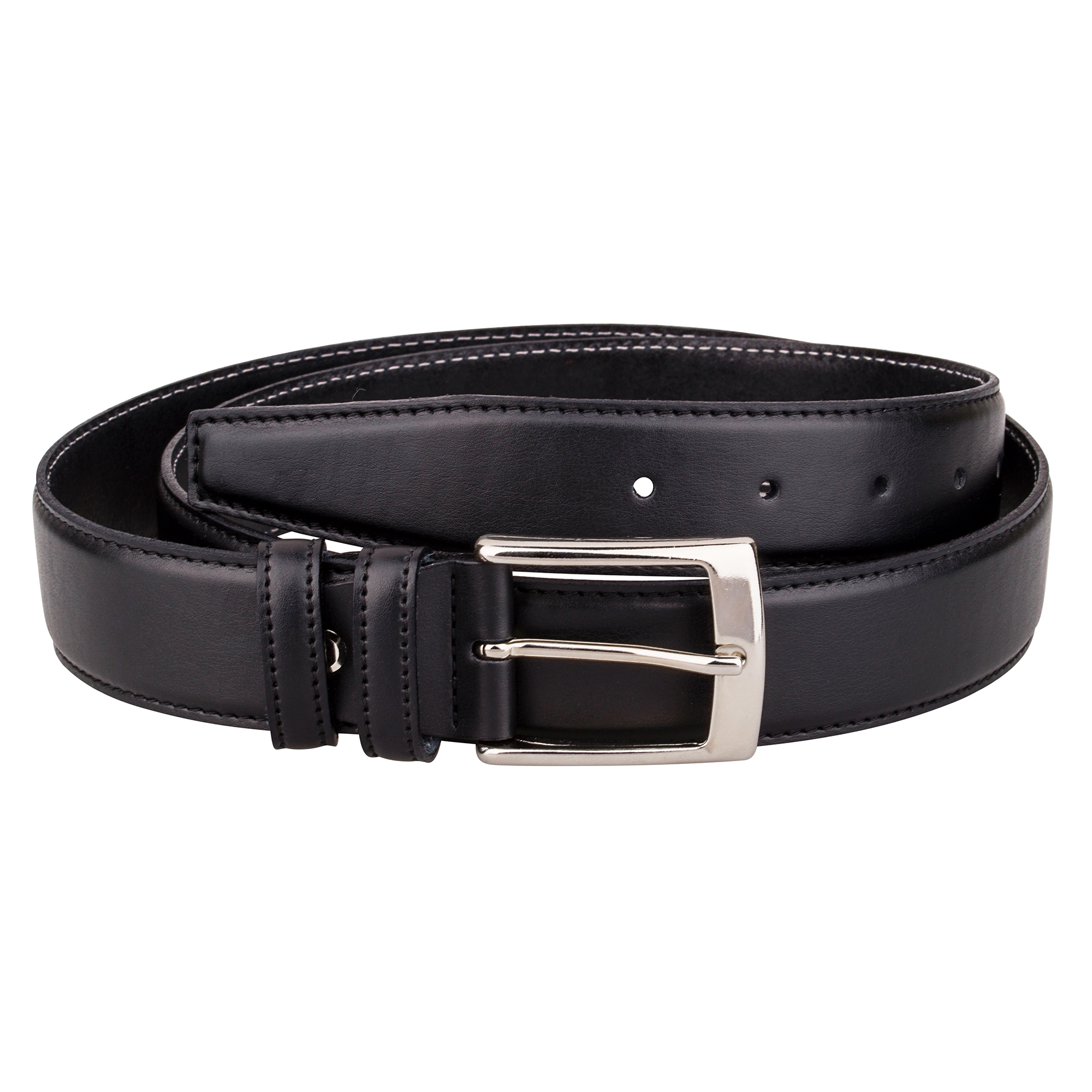 dress belt capo pelle mens belts black genuine