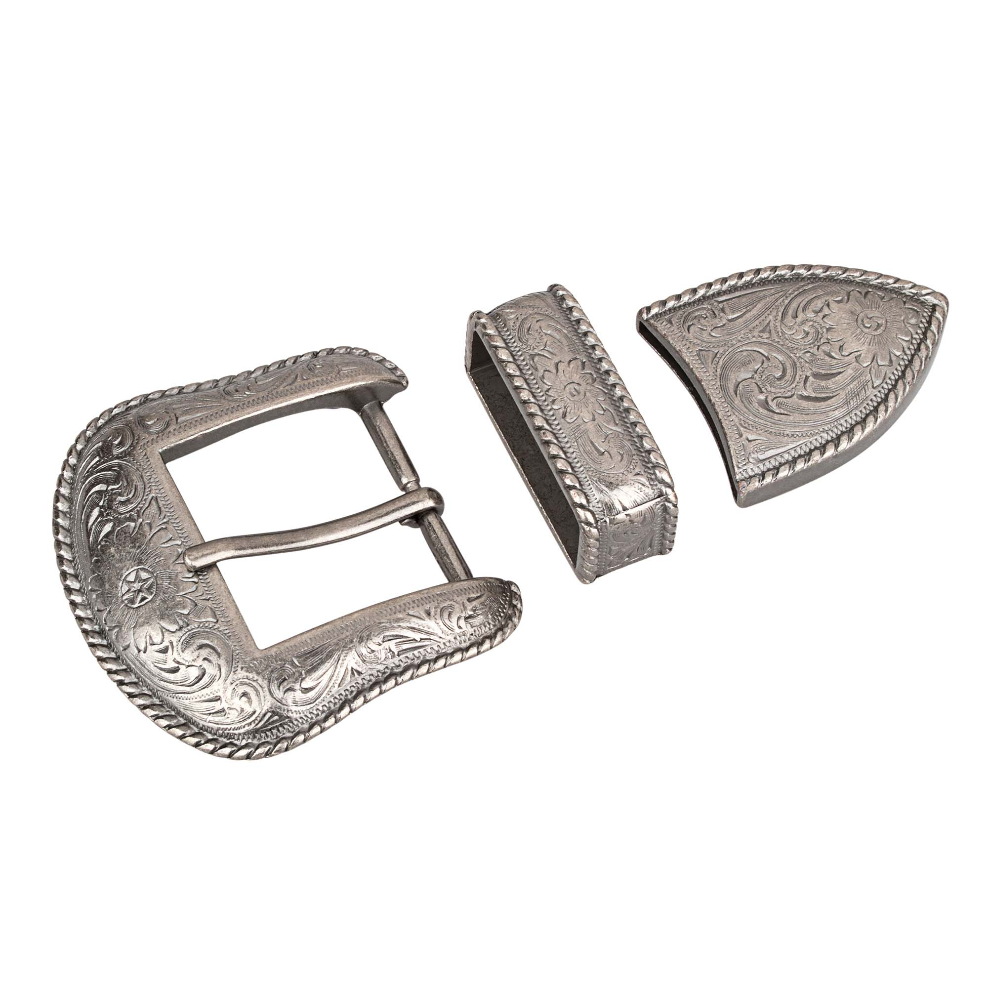 Antique silver Cowboy Belt Buckles for Men Western Cowgirl Belts 3 piece  set Main picture. be2b29896015