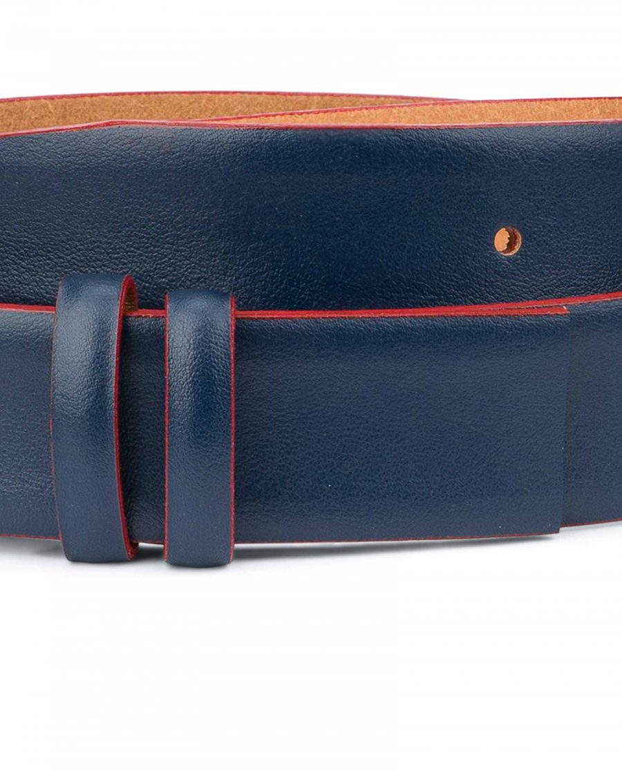 1-3-8-inch-Dark-Blue-Leather-Belt-Strap-with-Red-Edges