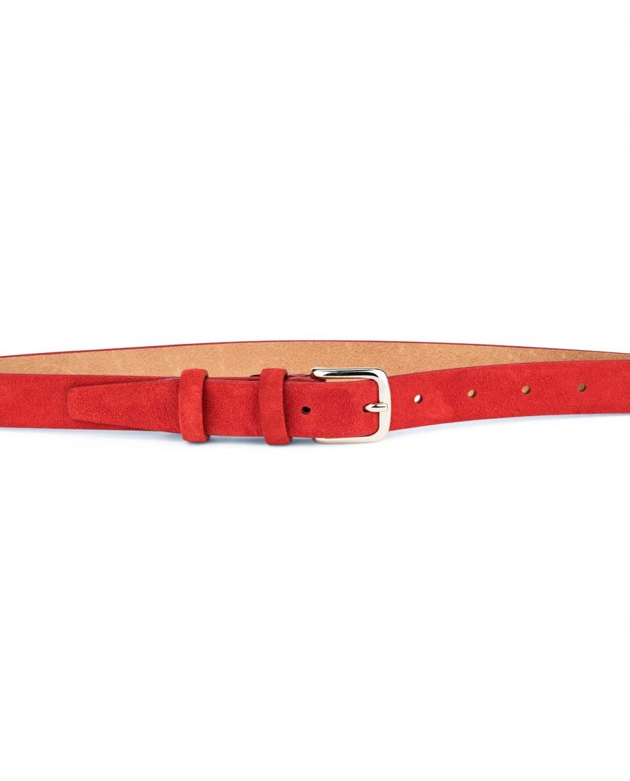 1-Inch-Red-Suede-Belt-on-Pants