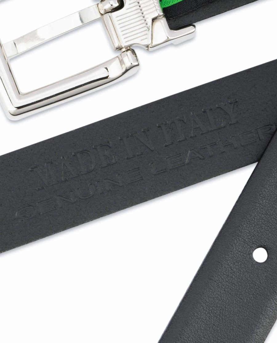 1-inch-Black-Leather-Belt-25-mm-Italian-Buckle-Made-in-Italy