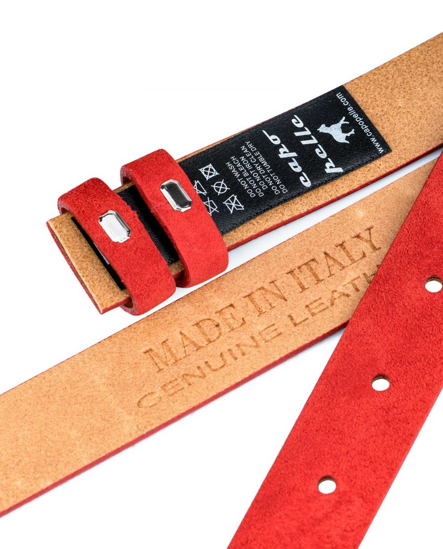 1-inch-Red-Suede-Belt-Strap-Replacement-Heat-stamp
