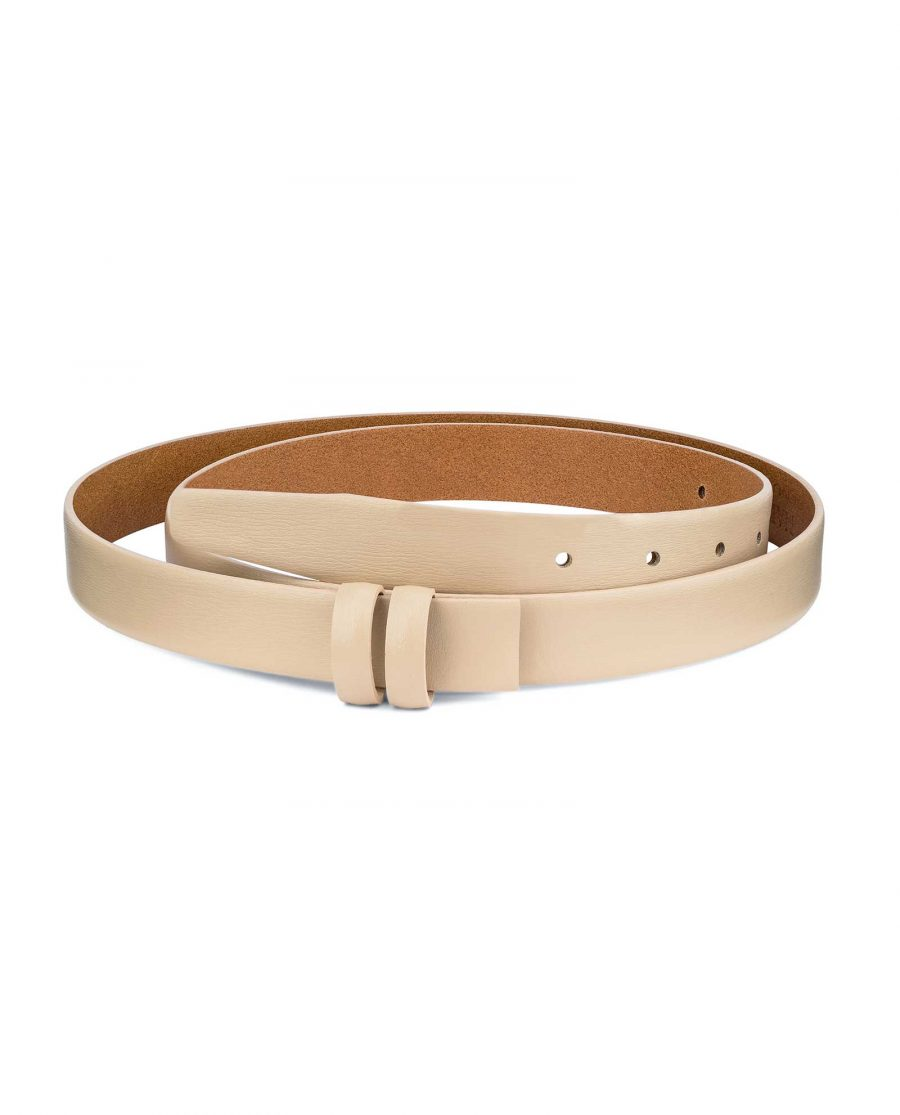 Beige-1-Inch-Wide-Leather-Belt-Strap-Replacement-Main-picture