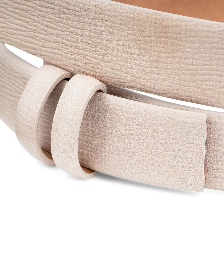 Beige-Leather-Replacement-Belt-Strap-30-mm-by-Capo-Pelle-Belt-holders-loops
