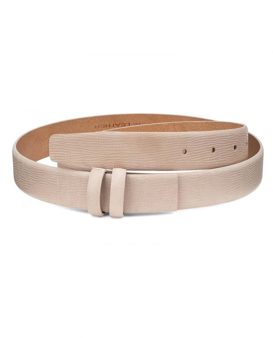 Beige-Leather-Replacement-Belt-Strap-30-mm-by-Capo-Pelle-Main-image