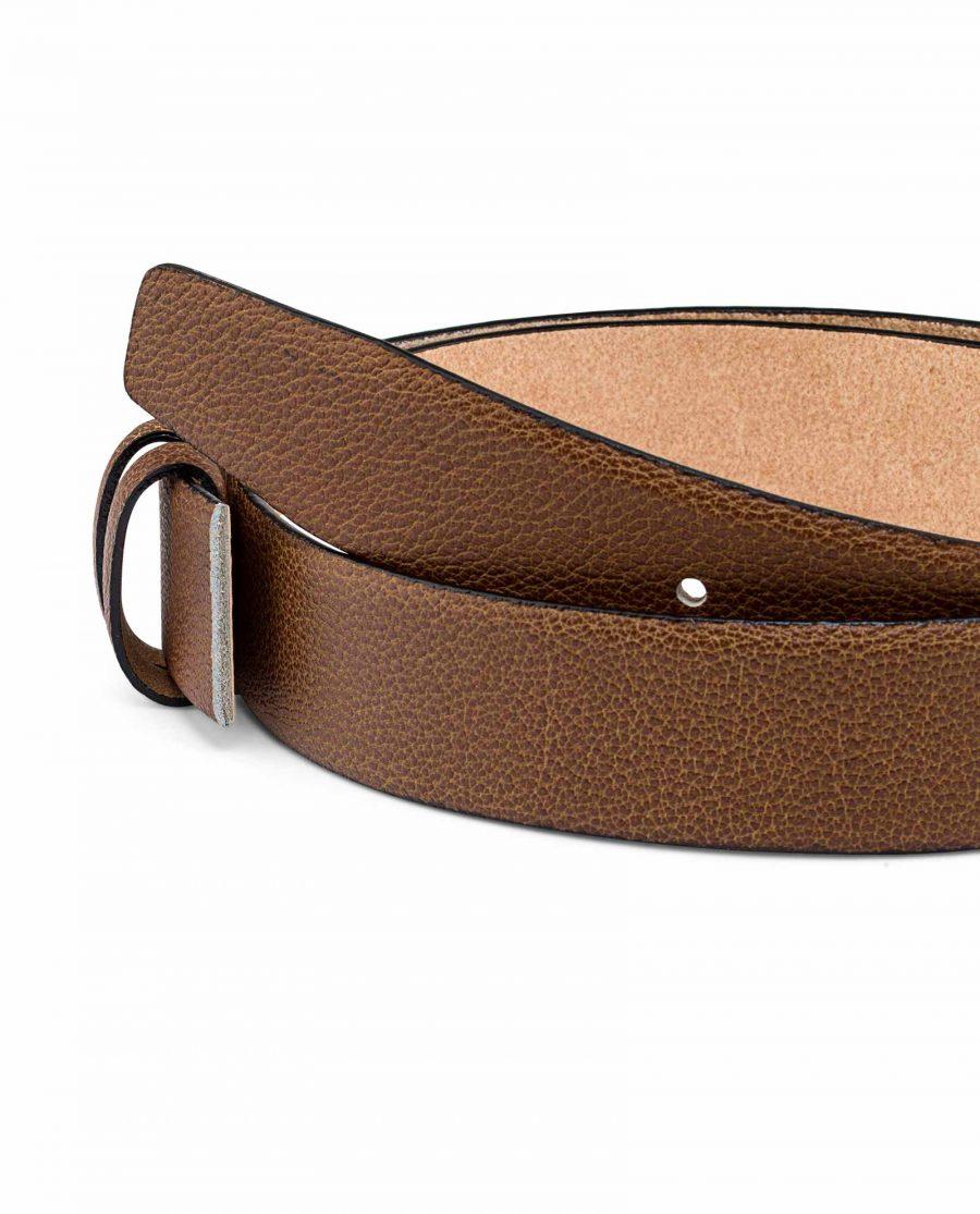 Beige-Mens-Belt-Strap-35-mm-Buckle-mount