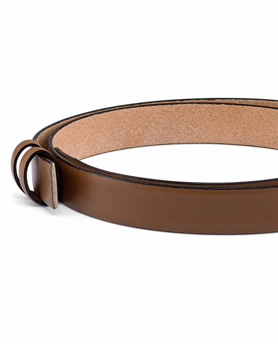 Beige-Mens-Skinny-Belt-Strap-25-mm-Buckle-place