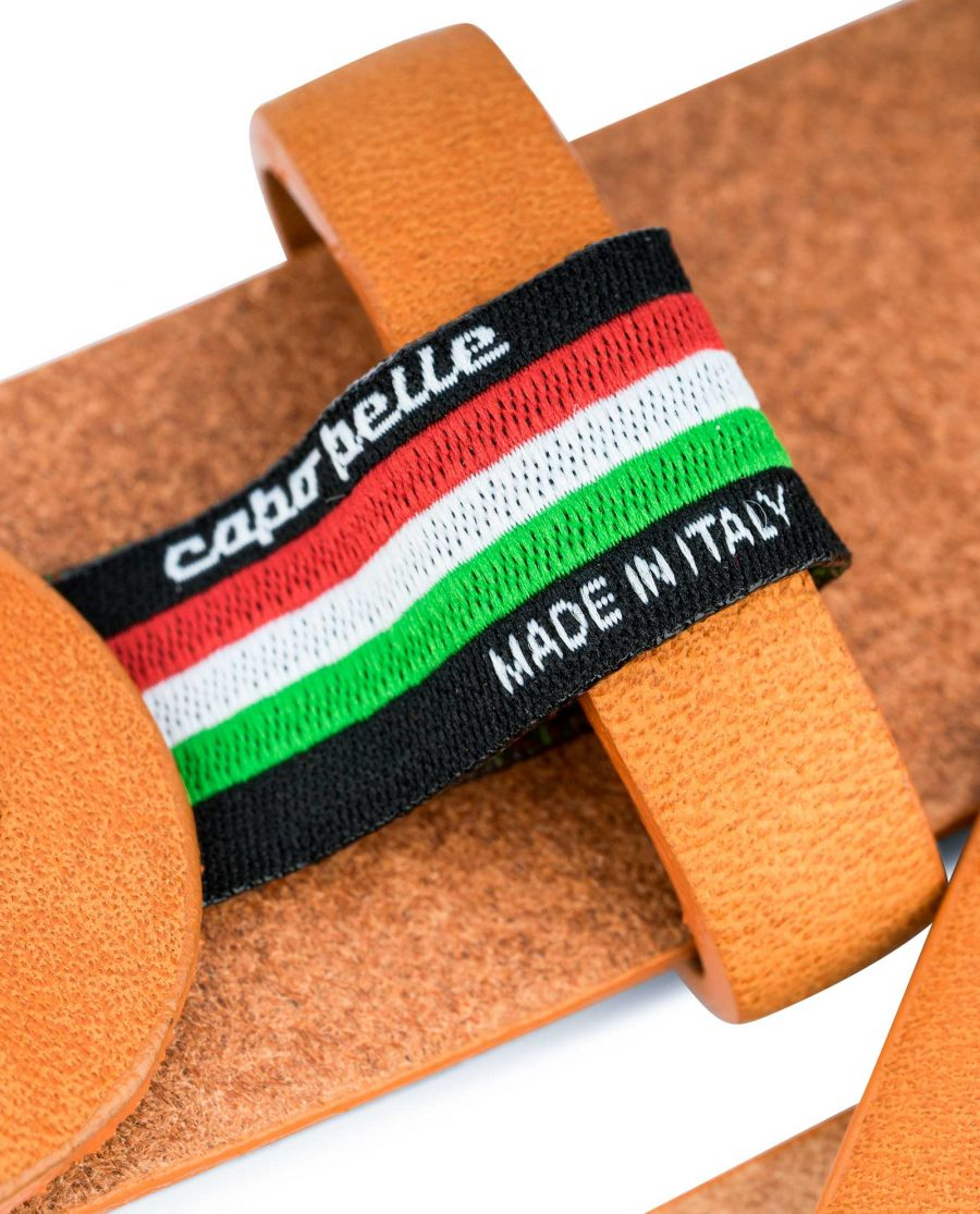 Beige-Vegetable-Tanned-Leather-Belt-Capo-Pelle-Care-tag