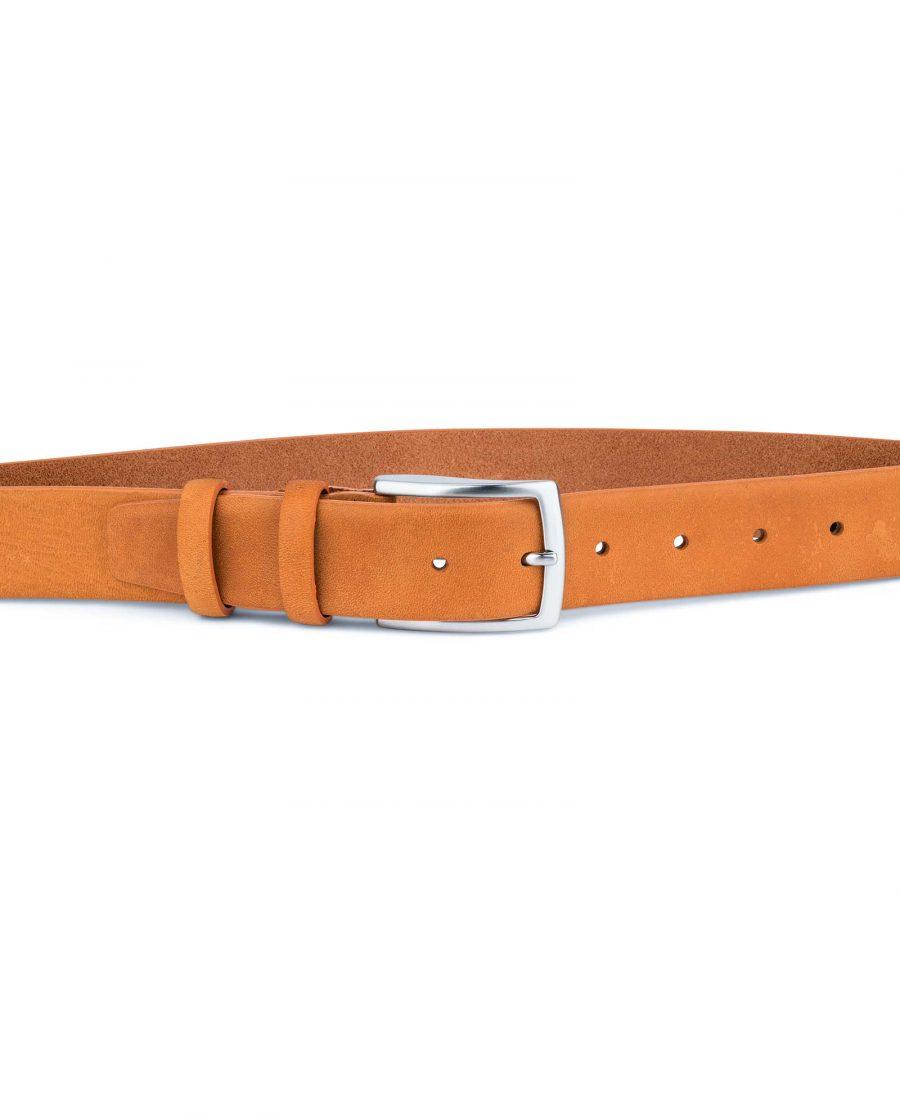 Beige-Vegetable-Tanned-Leather-Belt-Capo-Pelle-On-pants