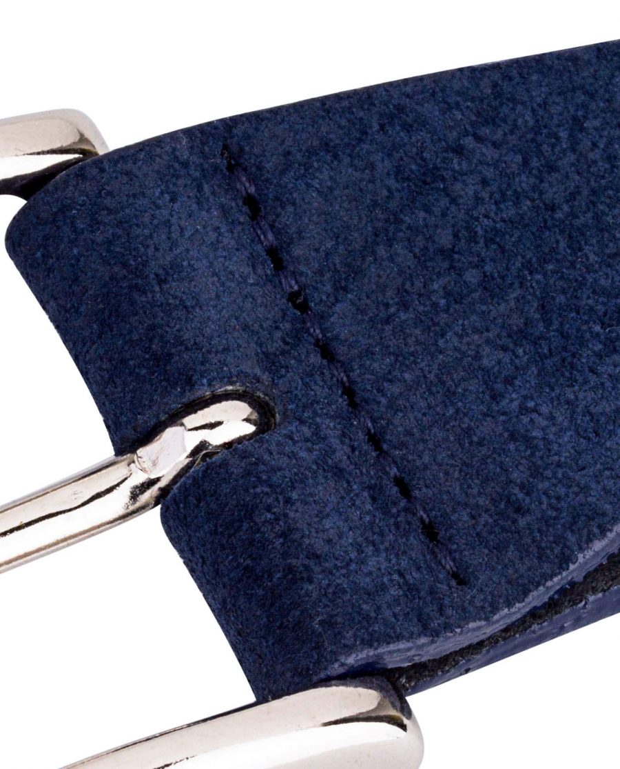 Belt-Buckle-with-Blue-Suede-Close-image