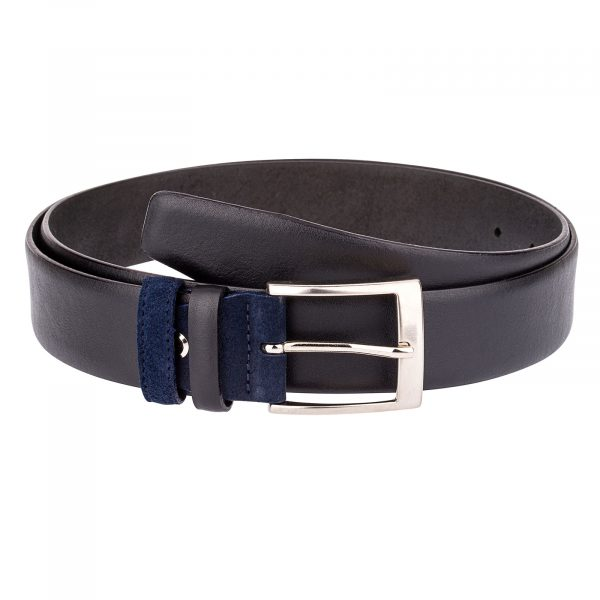 Black-Belt-Blue-Suede-Buckle-Main-picture