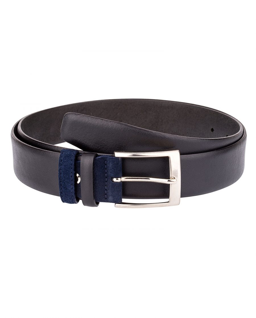 Black-Belt-Blue-Suede-Buckle-Main-picture