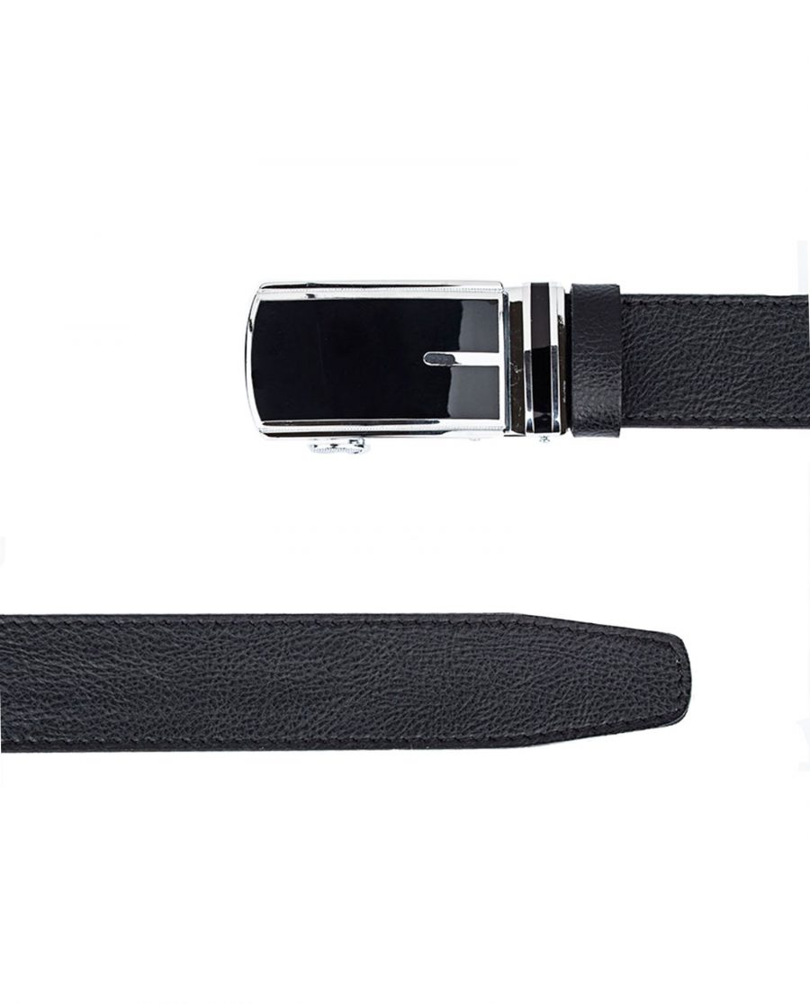 Black-Belt-With-Automatic-Buckle-Both-Sides