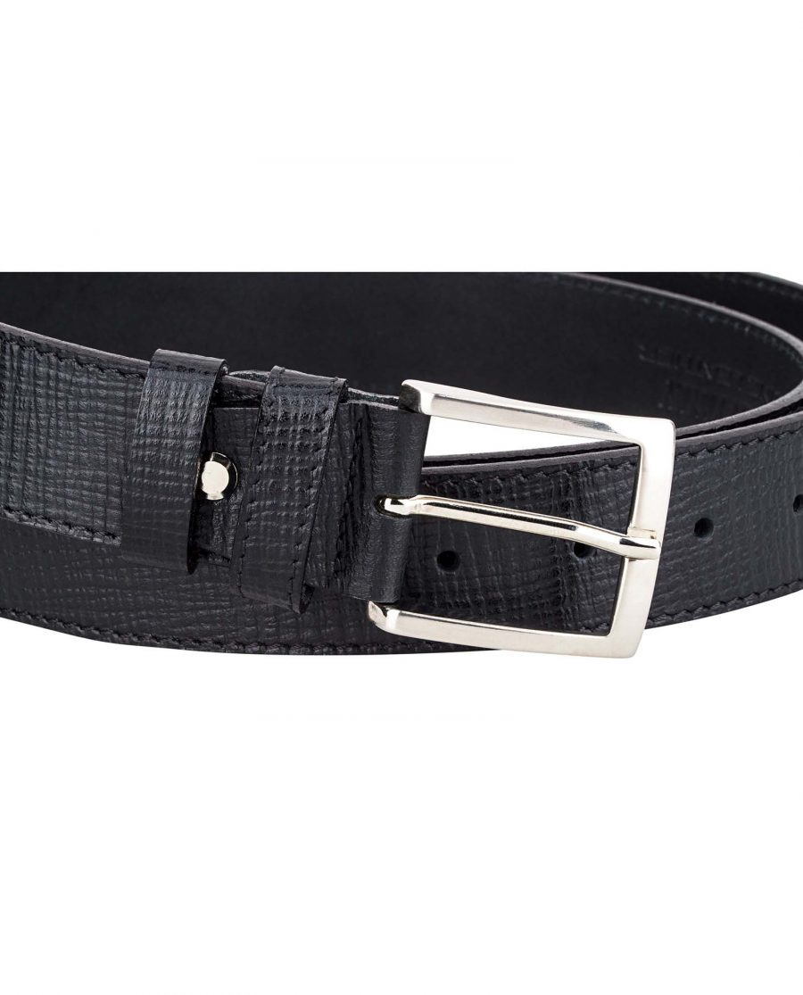 Black-Checkered-Belt-by-Capo-Pelle-Buckle-picture