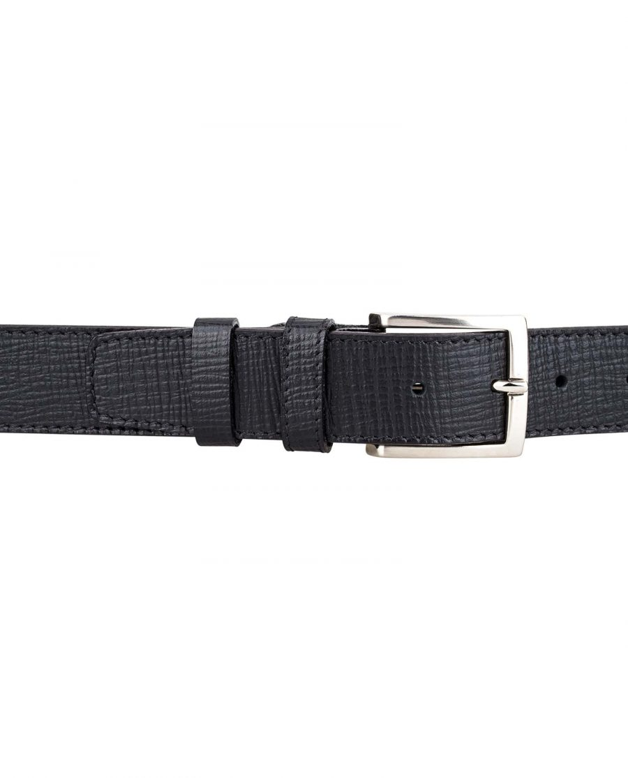 Black-Checkered-Belt-by-Capo-Pelle-On-pants