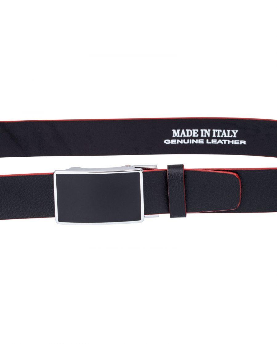 Black-Cowhide-Ratchet-Belt-On-pants