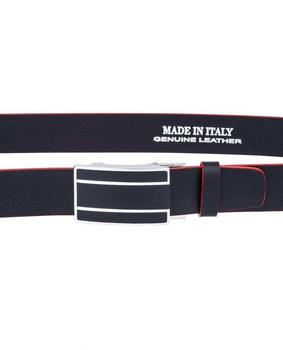 Black-Cowhide-Slide-Belt-Look-on-pants