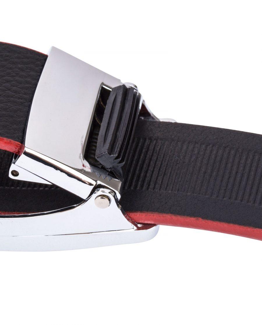 Black-Cowhide-Slide-Belt-Mechanism