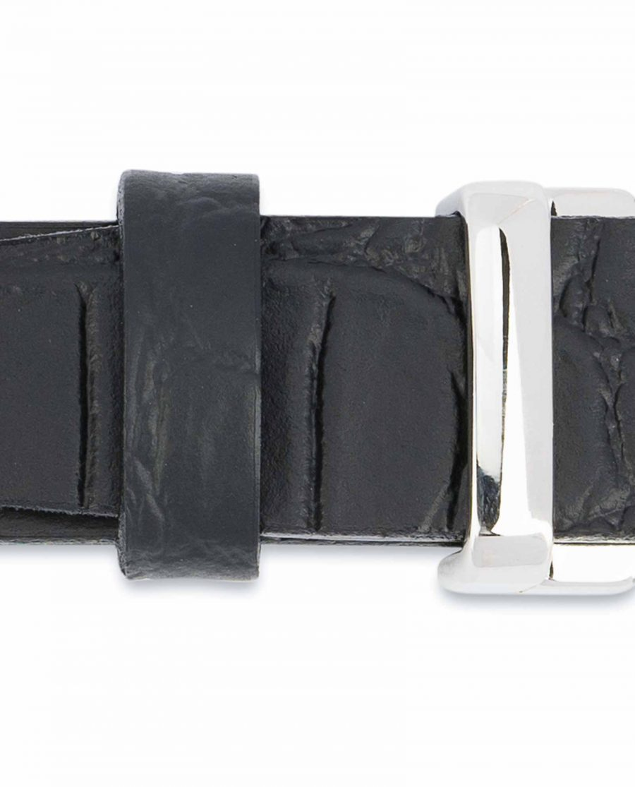 Black-Croco-Belt-1-inch-Embossed-Leather-High-quality
