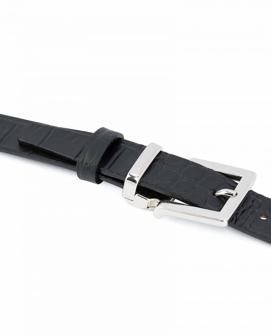 Black-Croco-Belt-1-inch-Embossed-Leather-Italian-buckle