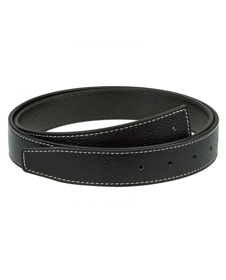 Black-H-belt-strap-narrow