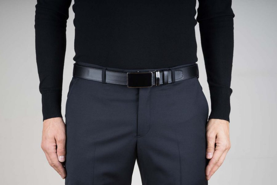 Black-Leather-Ratchet-Belt-Live-on-Pants