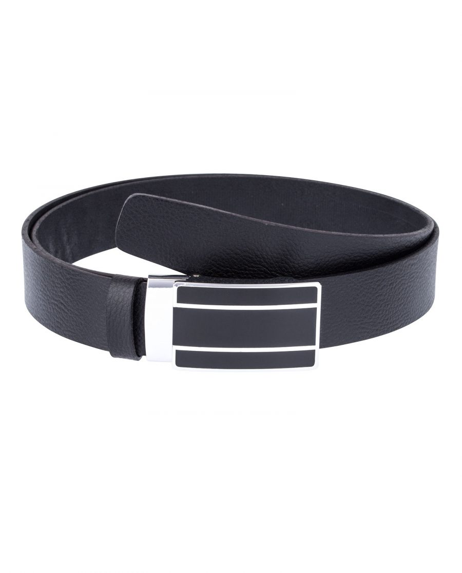 Black-Ratchet-Belt-Front-image