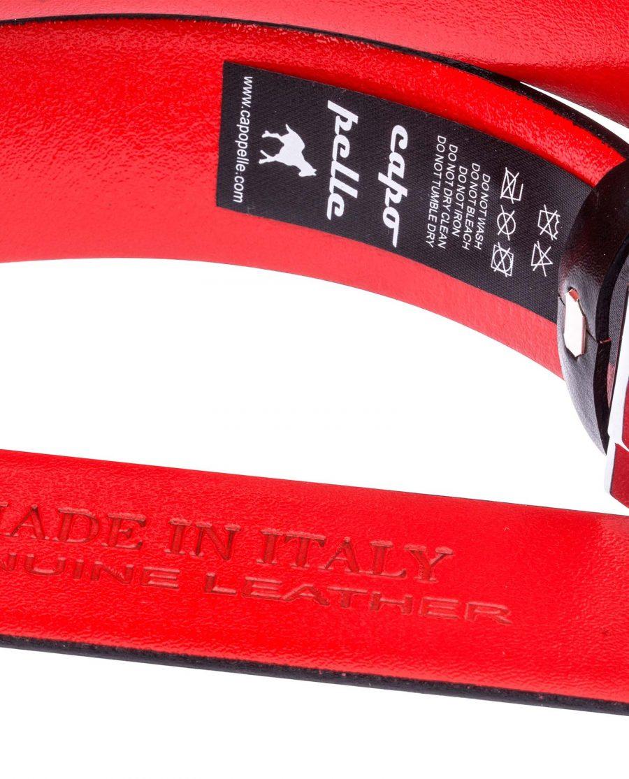 Black-Red-Ratchet-Belt-Care-tags