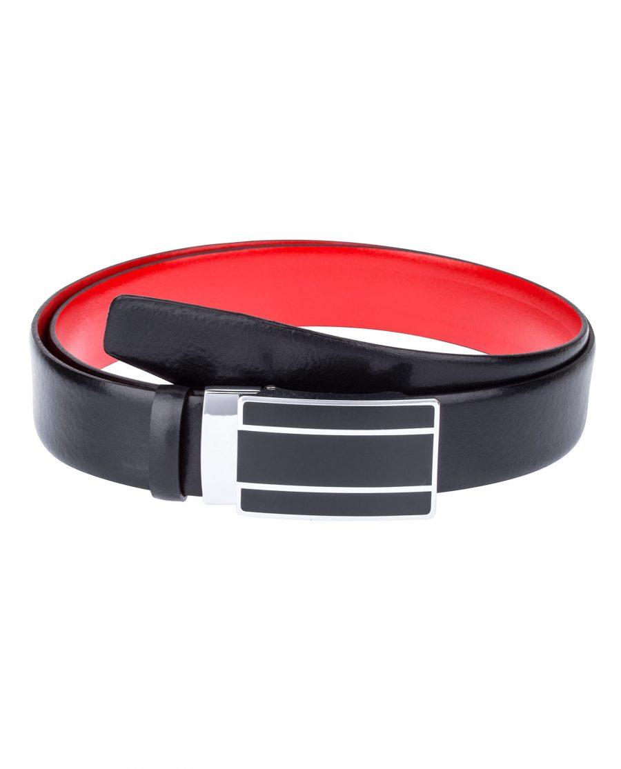 Black-Red-Ratchet-Belt-First-image