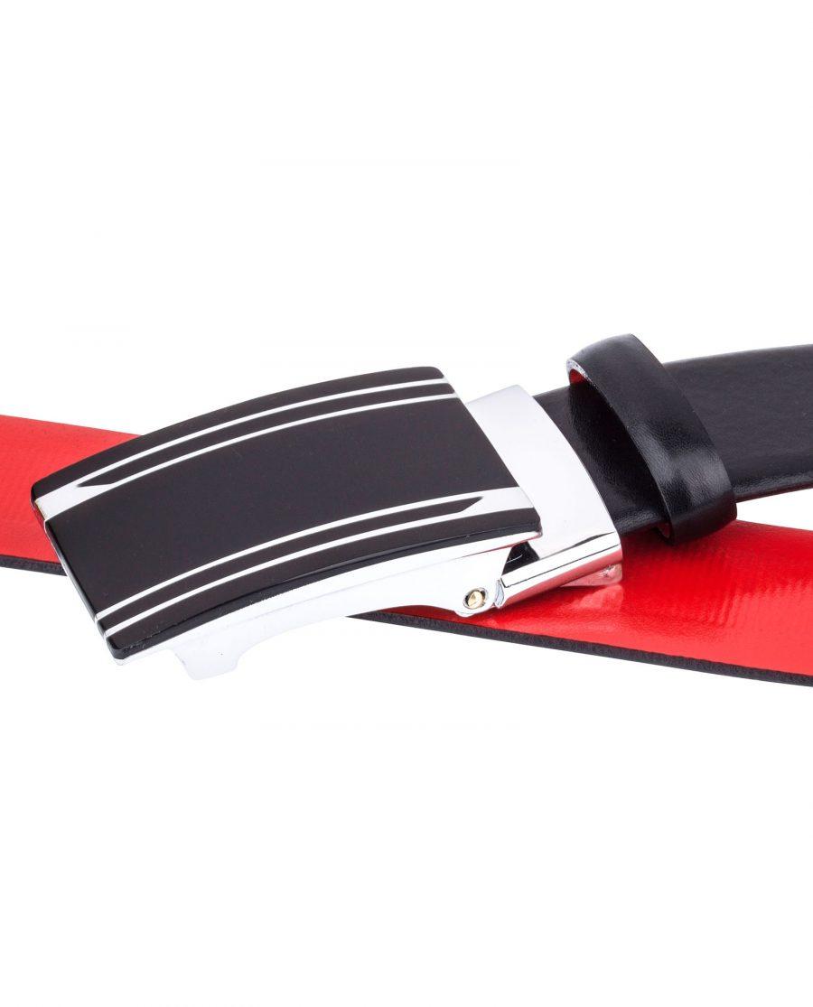 Black-Red-Slide-Belt-by-Capo-Pelle-Buckles-image