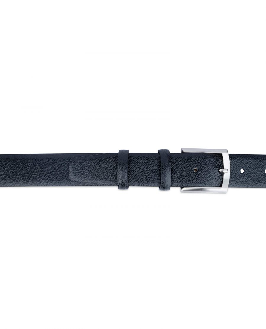 Black Saffiano Classic Leather Belt 2