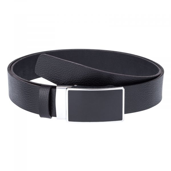 Black-Slide-Belt-in-Cowhide-Front-image