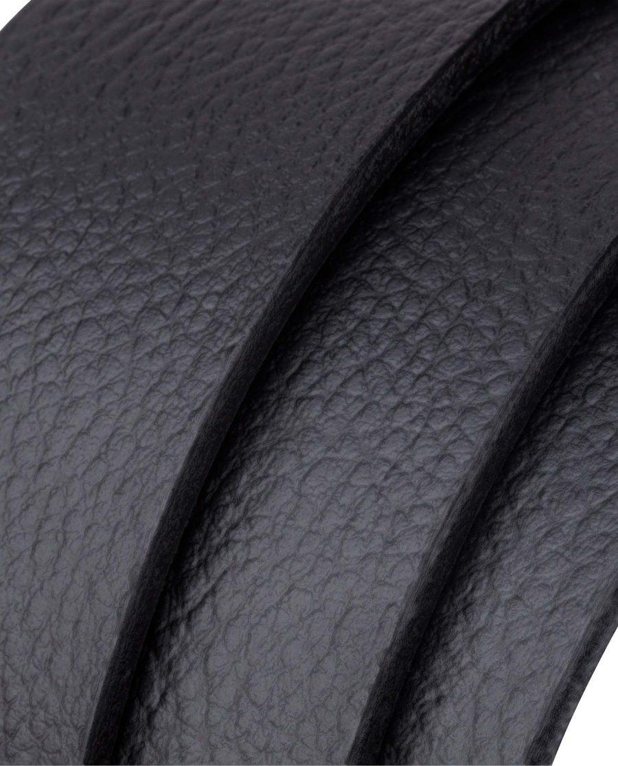 Black-Slide-Belt-in-Cowhide-Rolled-strap