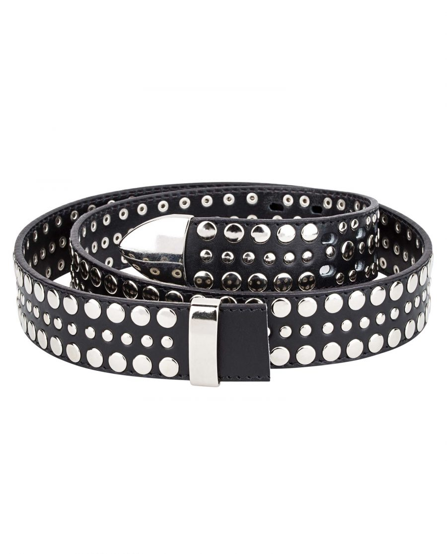 Black-Studded-Belt-Strap-Main-picture