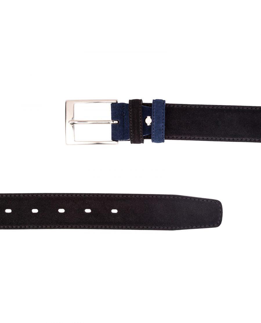Black-Suede-Belt-Blue-Both-ends-from-top