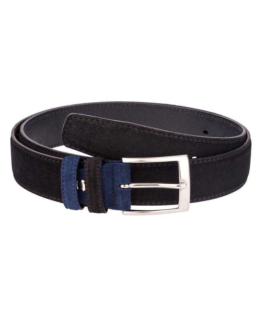 Black-Suede-Belt-Blue-Main-image
