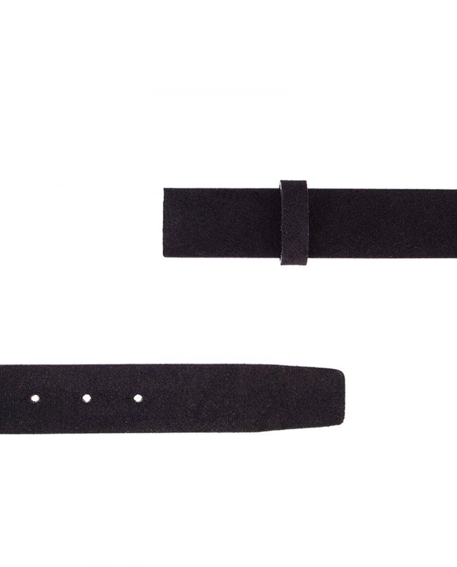 Black-Suede-Belt-Strap-Classic-Both-Ends