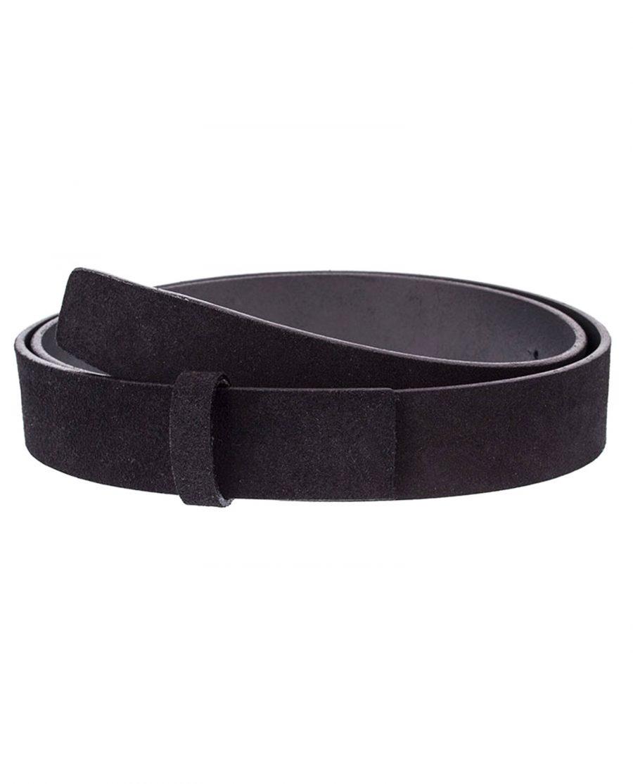 Black-Suede-Belt-Strap-Classic-Front