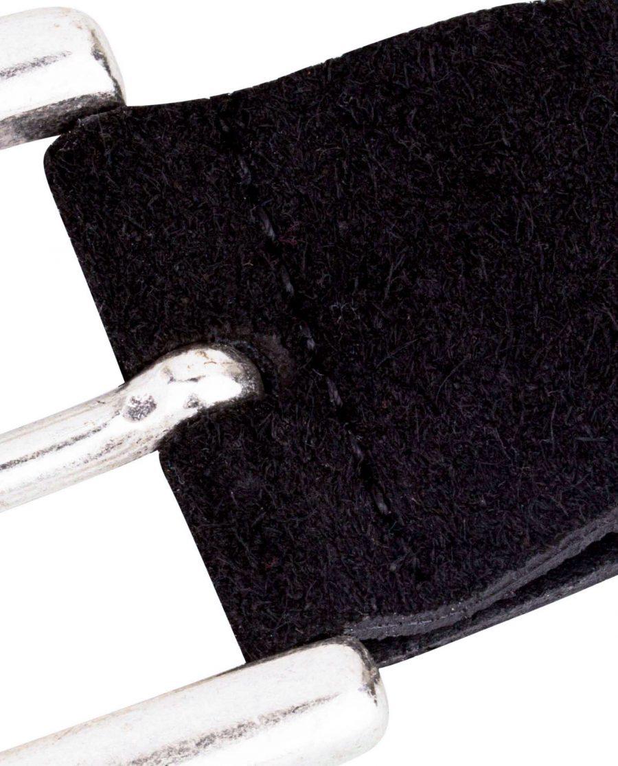 Black-Suede-Jeans-Belt-Buckle-CLose-image