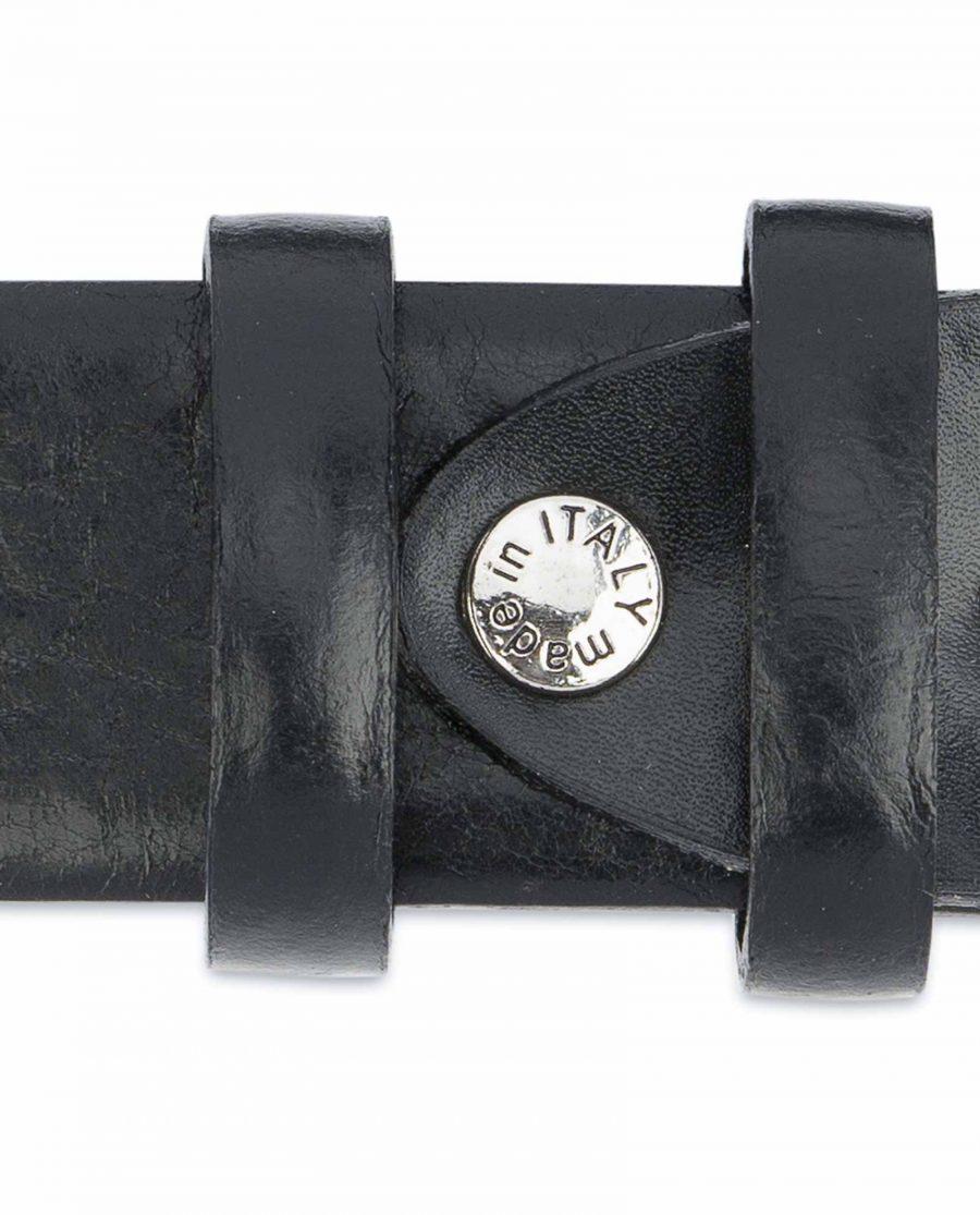 Black-Western-Belt-Mens-Veg-Tan-Leather-Screw-made-in-Italy