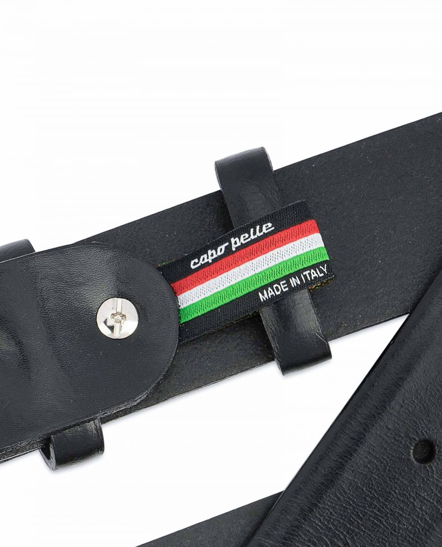 Black-Western-Belt-Mens-Veg-Tan-Leather-Woven-tag