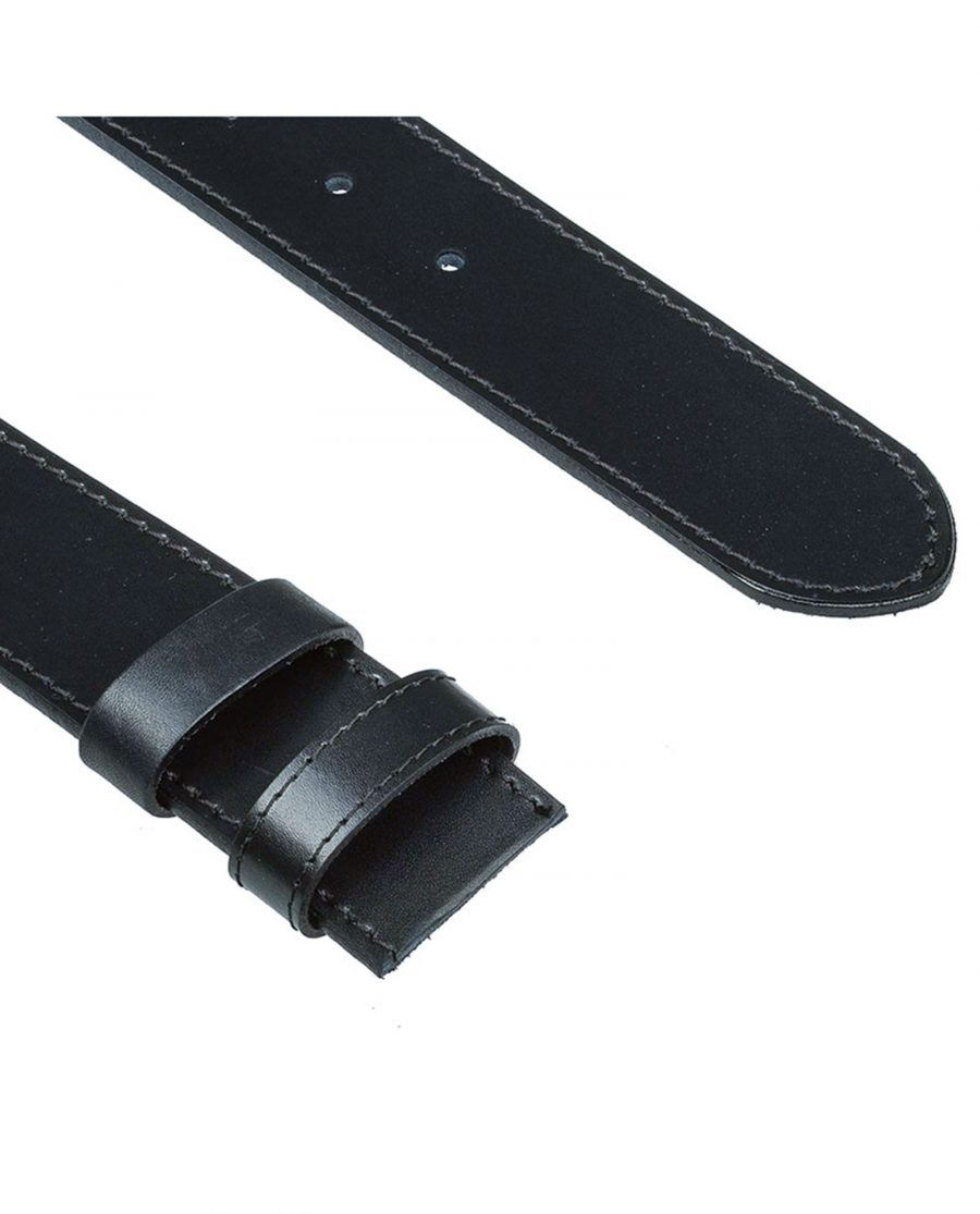 Black-belt-strap-wide-cut-end