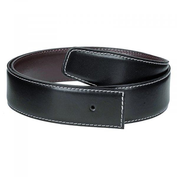 Black-brown-h-belt-strap