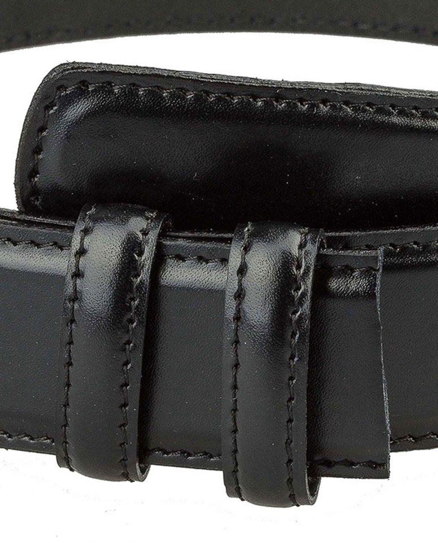 Black-nappa-belt-strap-cut-buckle-mount