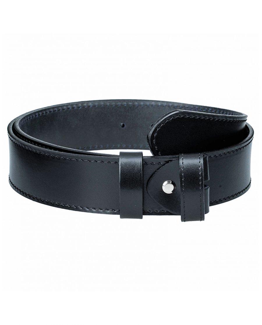 Black-nappa-belt-strap-wide