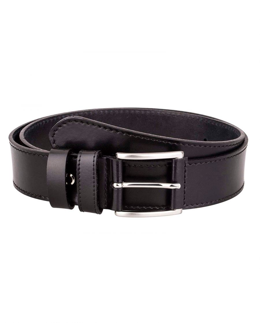 Black-nappa-luxury-belt-Front-image