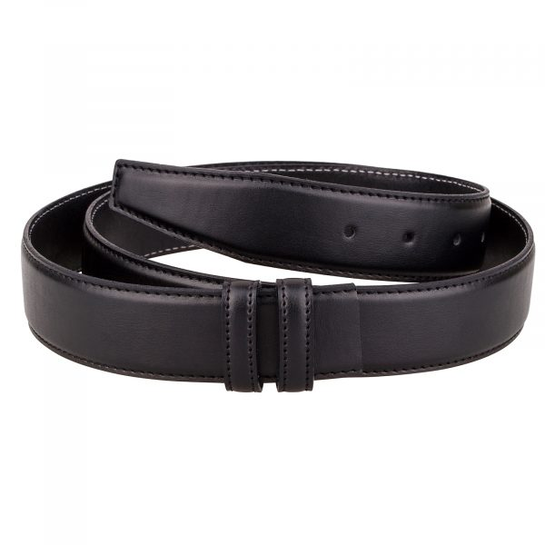 Black-soft-belt-strap-cut