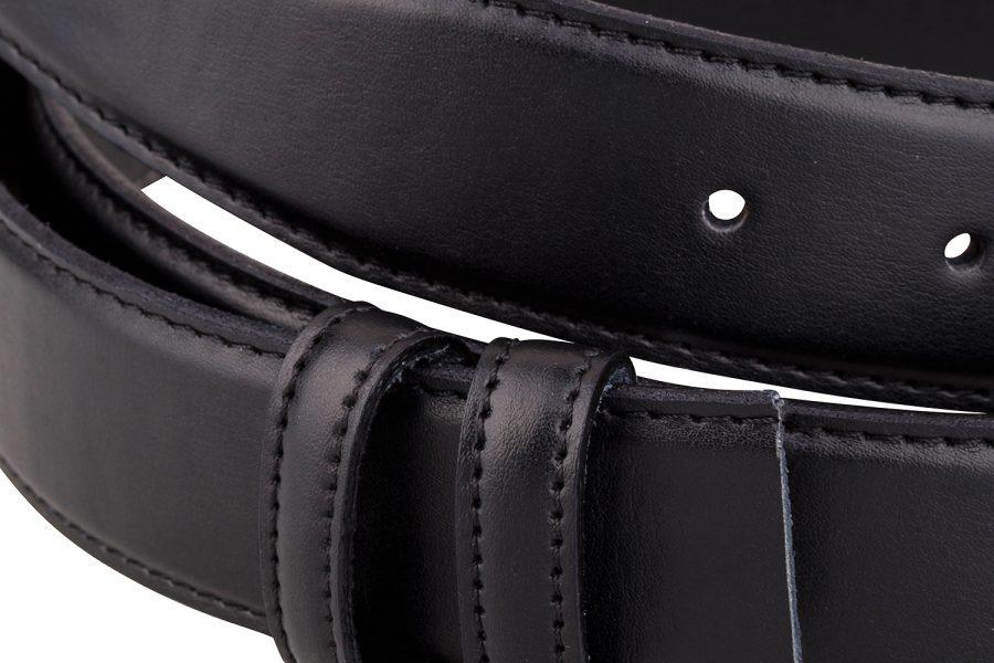 Black-soft-belt-strap-cut-Close-picture