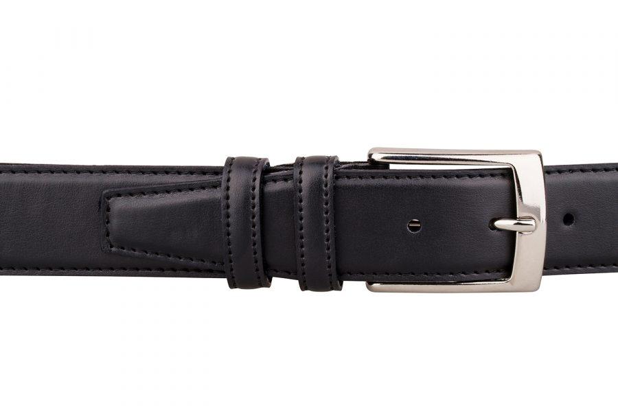 Black-soft-dress-belt-ON-PANTS