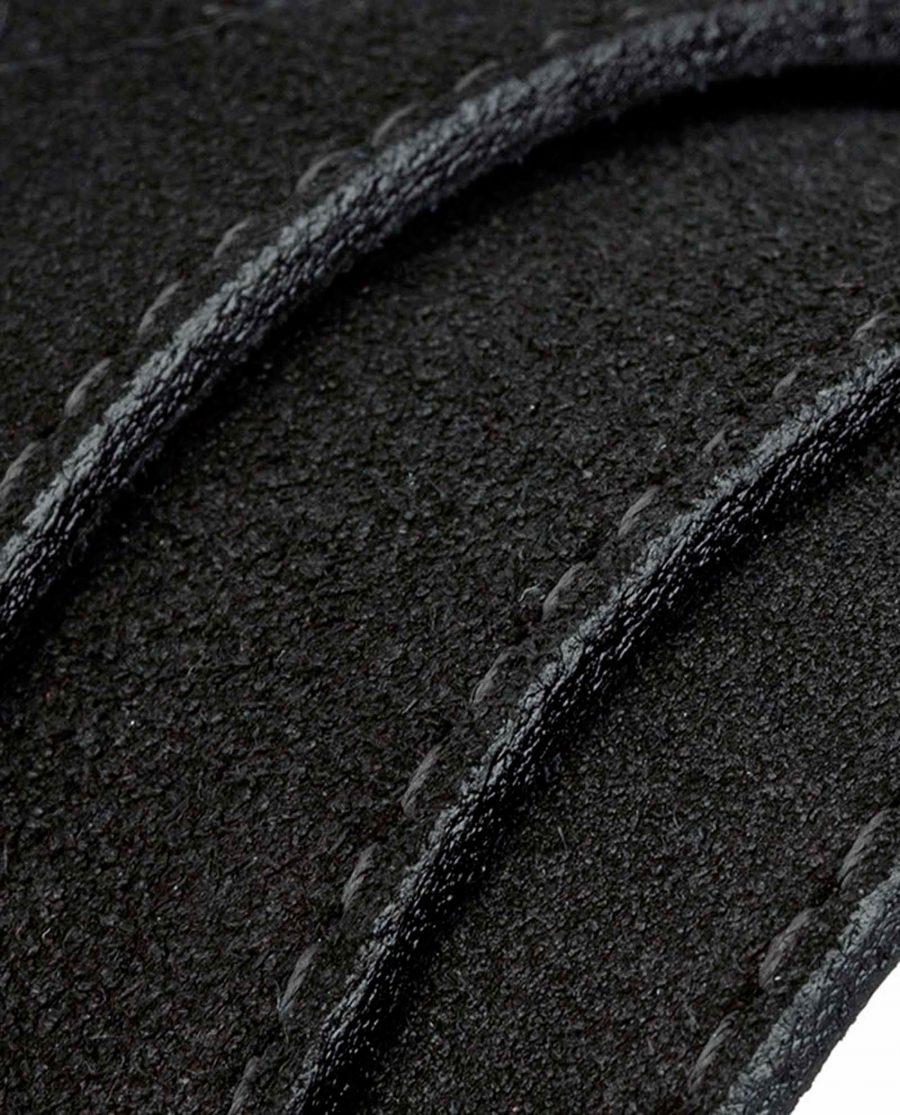 Black-suede-luxury-belt-rolled